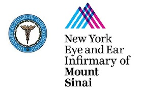 New York Eye and Ear Infirmary of Mount Sinai logo.
